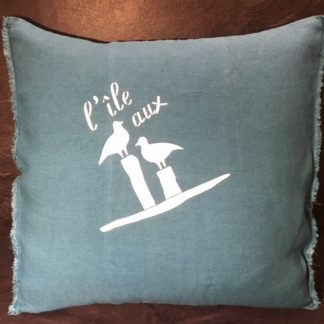 coussin Made in Bassin d'Arcachon
