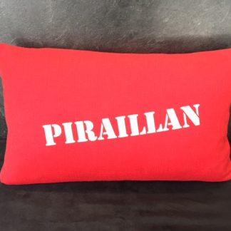 coussin coton Piraillan