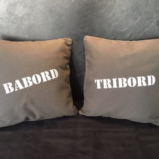 Babord Tribord coussin